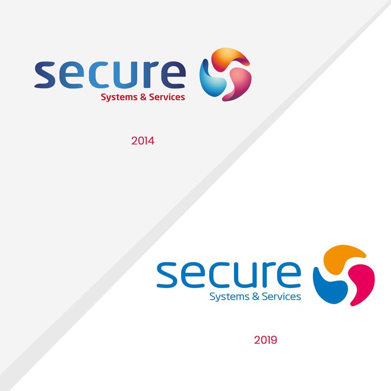 refonte logo Secure Systems & Services, création de logo