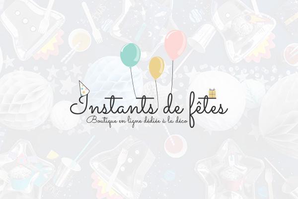 création de logo Instants de Fêtes à Lausanne