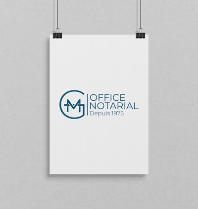Création de logo Office notarial
