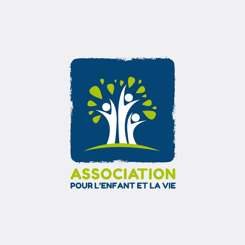 création de logo Association pour l'Enfant et la Vie