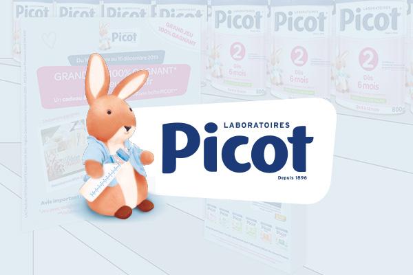 projet créations graphiques Picot