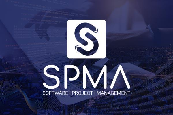 creation logo et identité visuelle pour l'entreprise SPMA