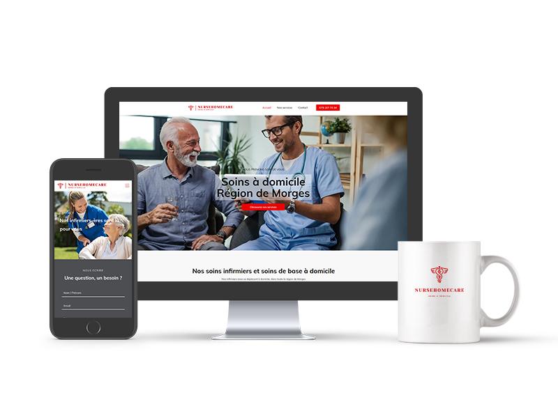création du site internet Nurse Home Care